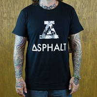 Asphalt Yacht Club Counter T Shirt, Color: Snow Camo in stock.