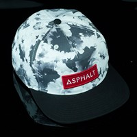 $32.00 Asphalt Yacht Club Clash Snap Back Hat, Color: Black, White