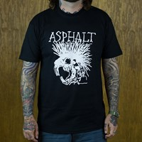 $25.00 Asphalt Yacht Club Wattie T Shirt, Color: Black