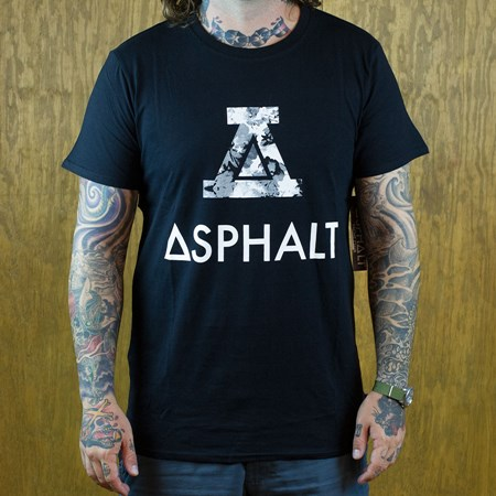 Asphalt Yacht Club Modern T Shirt Black