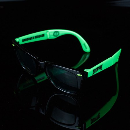 Creature Party First Folding Sunglasses, Color: Black, Green