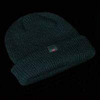 Independent Label Long Shoreman Beanie, Color: Black in stock.