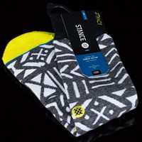 $12.00 Stance Compass Socks, Color: Yellow
