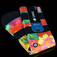 $12.00 Stance Bianca Socks, Color: Red