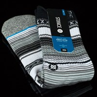 Stance Preto Socks, Color: Black in stock.