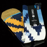 Stance Watchutu Socks, Color: Blue in stock.