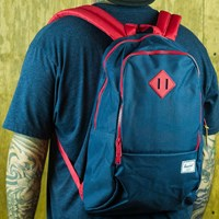 Herschel Nelson Backpack, Color: Navy, Red in stock.
