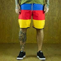 $55.00 Matix Finn Boardshorts, Color: Red