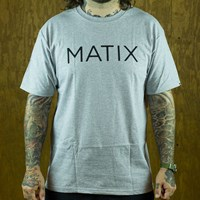 Matix Monoset T Shirt, Color: Heather Grey in stock.