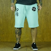 $55.00 Diamond Lightning Sweatshorts, Color: Diamond Blue