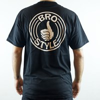 Bro Style Pocket T Shirt, Color: Black in stock.