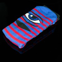 $8.00 Toy Machine Sect Eye Stripe Socks