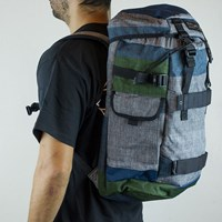 Dakine Burnside Backpack, Color: Stratum in stock.