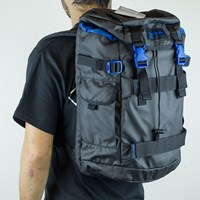 Dakine Burnside Blackout Backpack, Color: Blackout in stock.