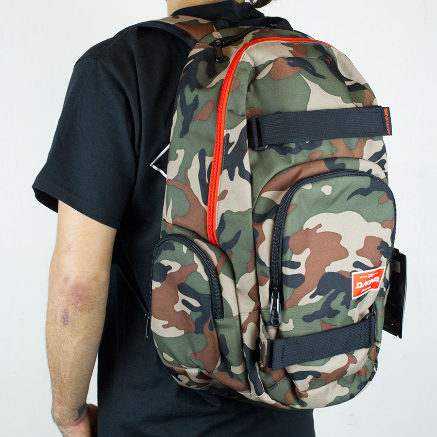 Camo Dakine Backpack - Crazy Backpacks