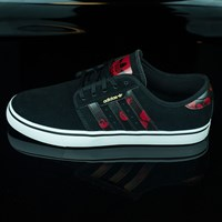 $45.50 adidas Seeley Shoes, Color: Black, Power Red, White