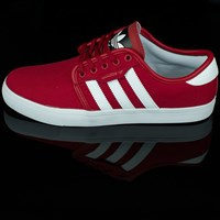 $65.00 adidas Seeley Shoes, Color: Scarlet, White, Black