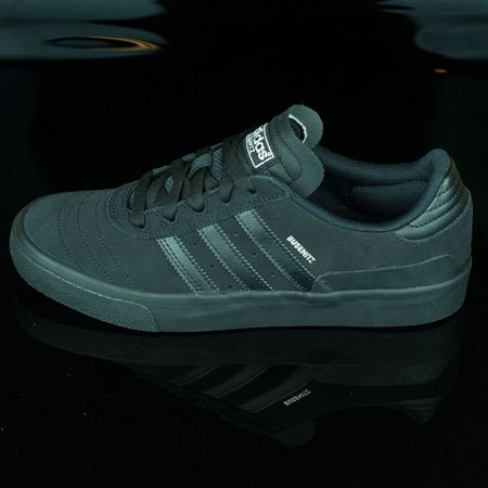 adidas Dennis Busenitz Vulc Shoes, Color: Black, Black