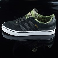 adidas Dennis Busenitz Vulc Shoes, Color: Black, Night Cargo, White
