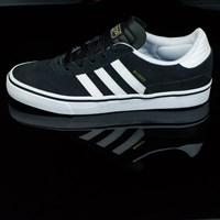 adidas Dennis Busenitz Vulc Shoes, Color: Black, Running White, Black in stock.