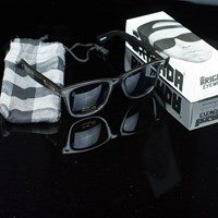 Brigada Reynolds Sunglasses, Color: Black in stock.