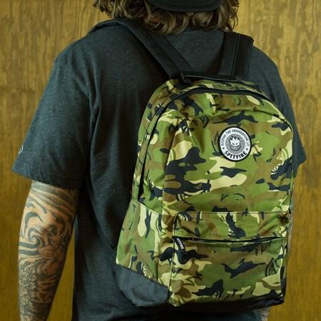 Spitfire Wheels Trademark Backpack Camo