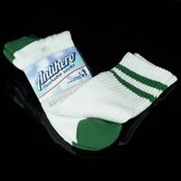 Anti Hero Stryper Socks, Color: White, Green in stock.