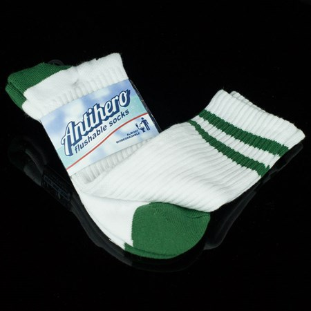 Anti Hero Stryper Socks White, Green