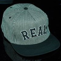 $30.00 Real On Deck Snap Back Hat, Color: Black
