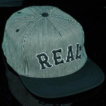 Real On Deck Snap Back Hat Black