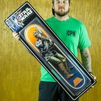 $120.00 Santa Cruz Star Wars Luke Skywalker Collectible Deck