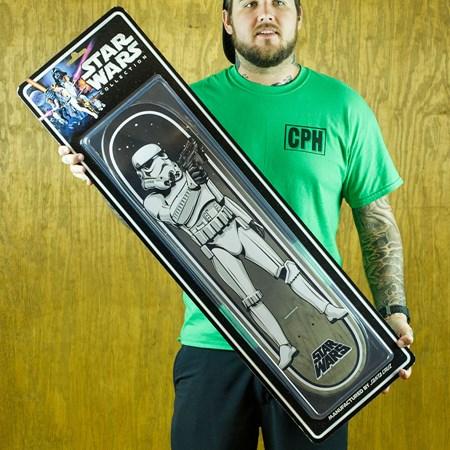Santa Cruz Star Wars Stormtrooper Collectible Deck N/A