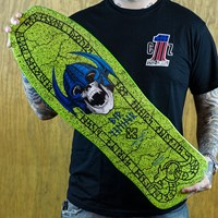 Powell Peralta Per Welinder Street Classic Reissue Deck, Color: Green