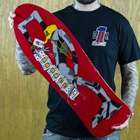 Powell Peralta Ray Barbee Classic Reissue Deck, Color: Red