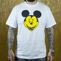 $24.00 Cycle Zombies CZ Land T Shirt, Color: White