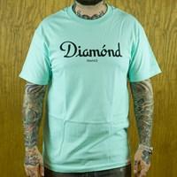 $32.00 Diamond Champagne T Shirt, Color: Diamond Blue