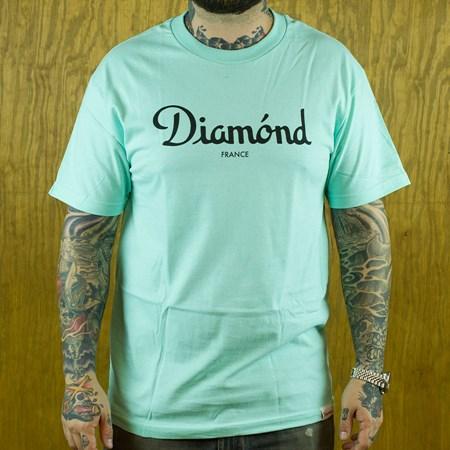 Diamond Champagne T Shirt Diamond Blue