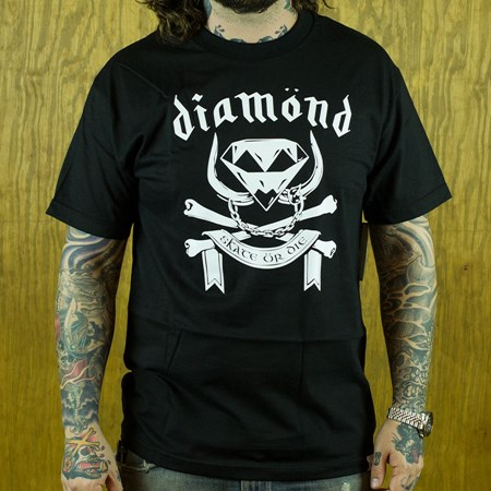 Diamond Diamond Head T Shirt Black