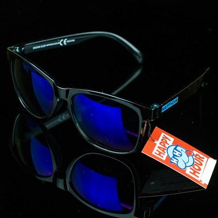 Happy Hour Shades Palermo Sunglasses, Color: Black, Polarized