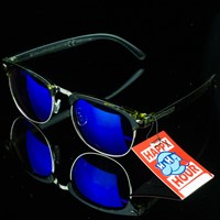 $14.00 Happy Hour Shades G2's, Color: Yellow Tortoise, Blue Mirror