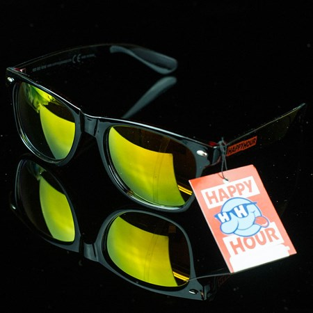 Happy Hour Shades Red Red Wines Sunglasses, Color: Black, Red