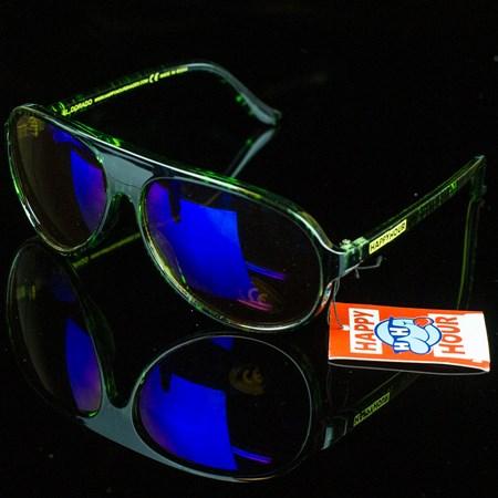 Happy Hour Shades El Dorado Sunglasses, Color: Black, Green