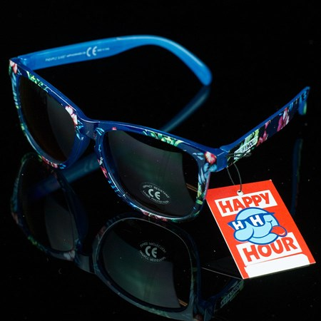 Happy Hour Shades Pineapple Sunset Sunglasses, Color: Multi