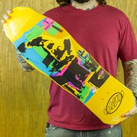 Hosoi Pop Art Deck, Color: Yellow in stock.