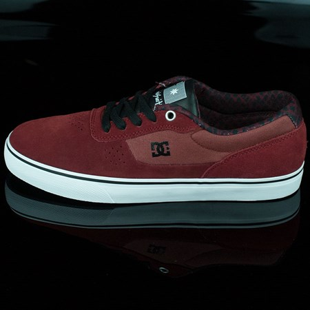DC Shoes Switch Shoes, Color: Wine, Evan Smith