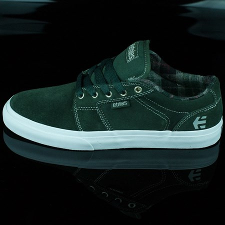 etnies Barge LS Shoes, Color: Forest Green