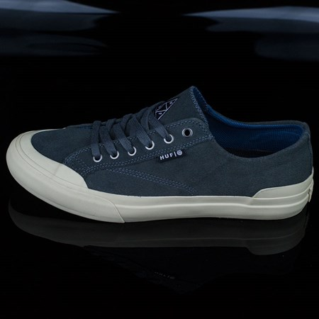 HUF Classic Lo Shoes, Color: Faded Steel