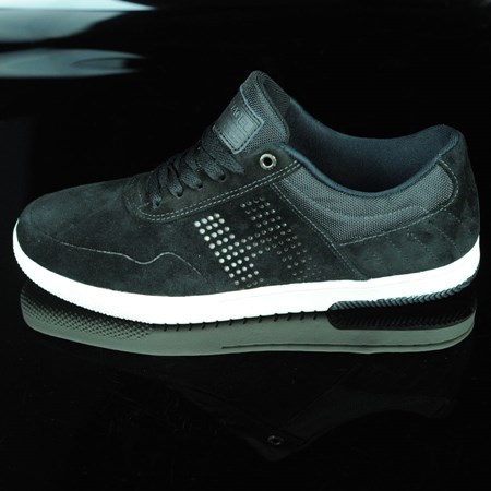 Size 10.5 in HUF Hufnagel 2 Shoes, Color: Black, Bone White