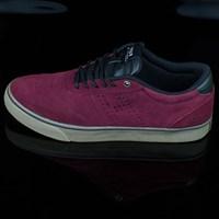 $75.00 HUF Galaxy Shoes, Color: Oxblood, Dark Gum
