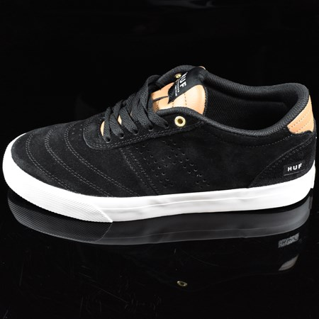 Size 9 in HUF Galaxy Shoes, Color: Black, Baseball